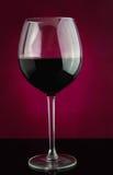 Röda Weinglass Arkivfoton