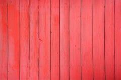 Röda wood paneler för Grunge Royaltyfri Bild