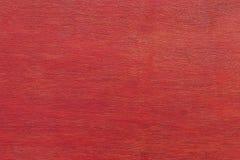 Röda wood paneler som används som bakgrund Royaltyfri Foto