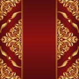 Rödbrun bakgrund Royaltyfria Bilder
