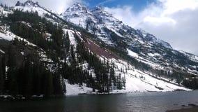 Rödbrun Klockor asp- USA vår royaltyfri fotografi
