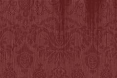 Rödbrun texturerad Paisley bakgrund Arkivfoton