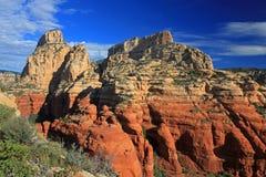 Rödbrunt berg, Sedona AZ Royaltyfri Bild