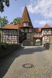 Rödelseer Tor in Iphofen stock images