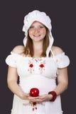 Rödhårig manskönhetkvinnor Royaltyfria Foton