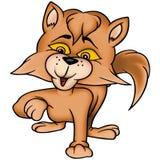 rödlätt katt 13 royaltyfri illustrationer