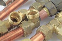 Röhren und Installationen lizenzfreies stockbild