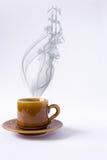 rök för koppdollarform Arkivfoto