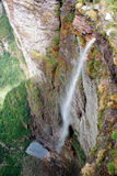 Rök faller (Cachoeira da Fumaça i portugis) Arkivbild