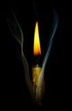 Rök och flamma Fotografering för Bildbyråer