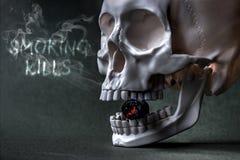 Röka byten #3 Arkivbild