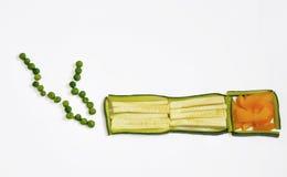 Röka grönsaker Royaltyfria Foton