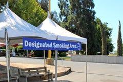 Röka område Royaltyfri Bild
