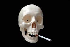 Röka skador din hälsa Arkivbild