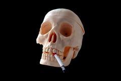 Röka skador din hälsa Fotografering för Bildbyråer