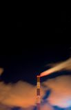 rökande stjärnor Arkivbild