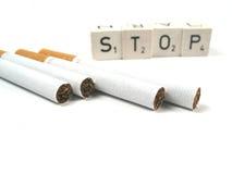 rökande stopp royaltyfri foto