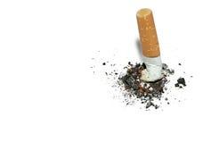 rökande stopp för bakgrundscopyspace Royaltyfri Foto