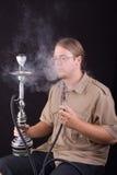 rökande vatten för rør Fotografering för Bildbyråer