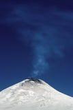 rökande vulkan Royaltyfri Fotografi