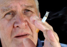 rökare 4 Fotografering för Bildbyråer