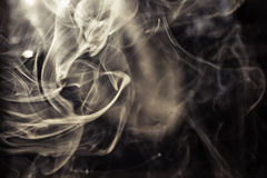 Rökbakgrund Royaltyfri Bild