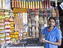 Rökelse shoppar, Sri Lanka Arkivfoton
