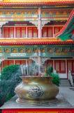 Rökelsegasbrännare på Kina royaltyfri foto