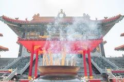 Rökelsegasbrännare på Kina royaltyfri bild