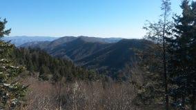 rökig bergnationalpark Arkivfoton