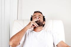 rökning Fotografering för Bildbyråer