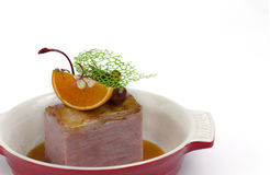 Rökt filé för grisköttfransyska Royaltyfri Fotografi