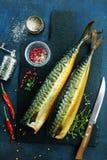 Rökt fisk Royaltyfri Bild
