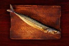 Rökt mackerel arkivfoto