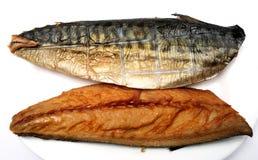 rökt mackerel royaltyfri fotografi