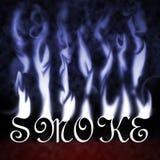 röktext royaltyfri bild