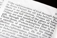 Römer-3:23 Stockbilder