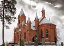Römisch-katholische Kirche Stockbild