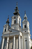 Römisch-katholische Kirche, Sivac, Serbien Stockfotografie