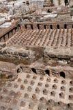 Römische Bäder, im Stadtzentrum gelegenes Beirut Stockfotos