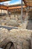 Römische Bäder in Spanien, Caldes de Malavella Stockbilder