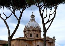 Römische Basilika Lizenzfreie Stockbilder