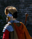 Römische Befehlshaber-Uniform Lizenzfreies Stockbild