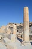 Römische Bibliothek von Celsus in Ephesus lizenzfreie stockfotos
