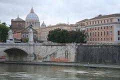 Römische Brücke Stockbild
