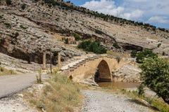 Römische Brücke bei Cendere Stockfotografie