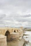 Römische Brücke in Cordoba Stockfoto