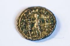 Römische Münzen Alte Münzen selten historisch Stockbild
