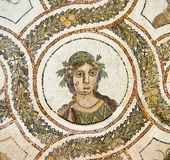 Römische Mosaiken Lizenzfreies Stockfoto