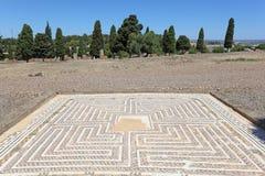 Römische Ruine Italica. Sevilla, Spanien stockfotografie